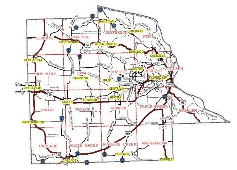 GIS Dubuque County Interactive Map