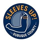 Sleeves Up! Dubuque County (PNG)